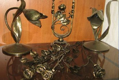 Приемы декоративного оформления в художественной ковке